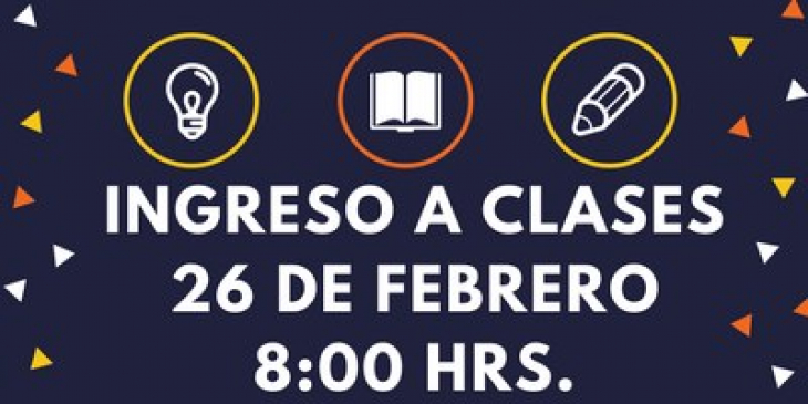 INGRESO A CLASES 2018